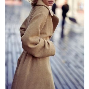 Zara Limited Edition Belted Wool Coat